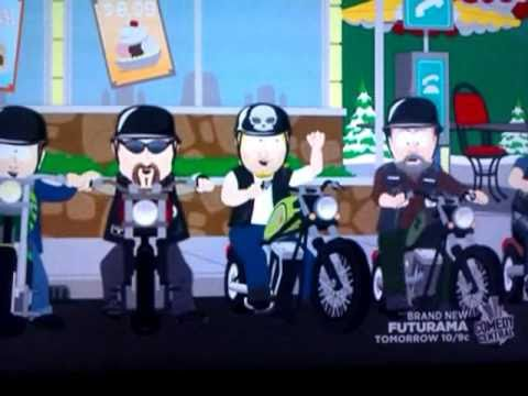 South park harley fags