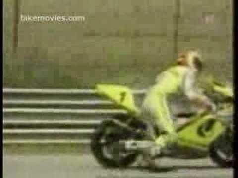 Neitiketinas sugryzimas ant motociklo