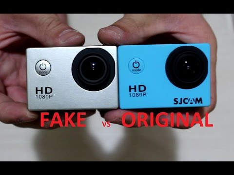 Fake SJ4000 vs Original SJ4000-SJCAM