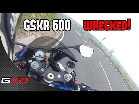 GSXR 600 WRECKED!