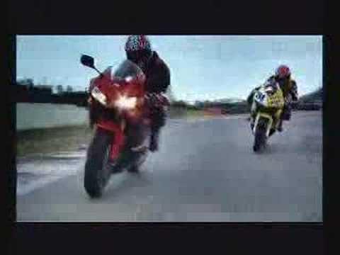 Honda CBR 600 RR commercial