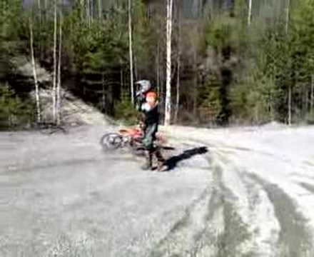 Crash enduro