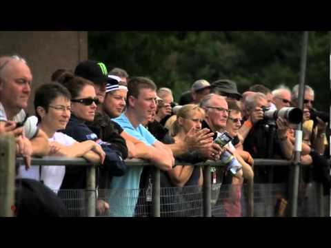 British Superbike 2012: salti di Cadwell Park in Slow motion