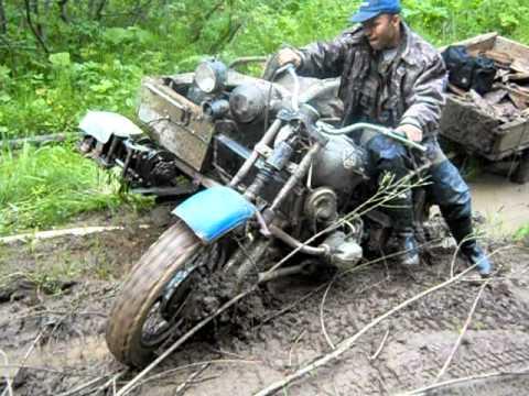 полнопривадный мотоцикл урал.avi