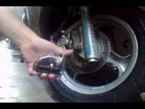 Motorbike Disc Brake Lock WITH ALARM