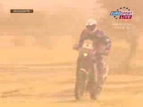 Lisboa Dakar Rally 2007 - Motorbikes Stage 12