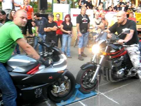 Moto sraz svatobořice benelli vs suzuki gsx 1400