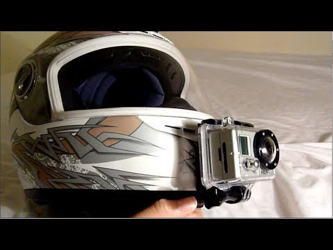 GoPro Helmet Chin Mounting Position