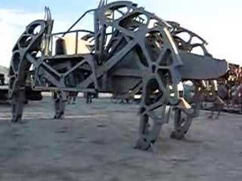 Walking Machine at Burning Man '07