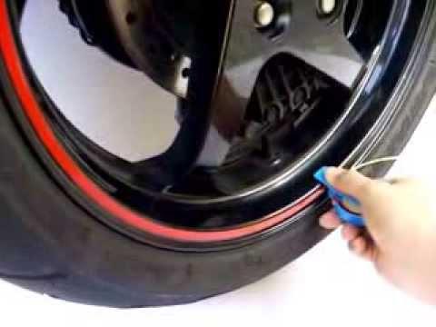 Reflective Wheel Stripe for yamaha honda kawasaki suzuki ducati  aprilia bmw ktm