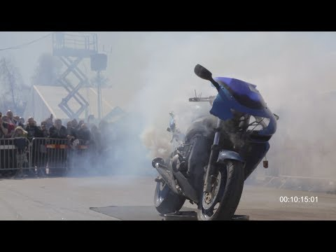 Bike engine on full throttle until death! | Pimpstarlife