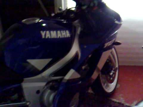 My YZF R6 2000