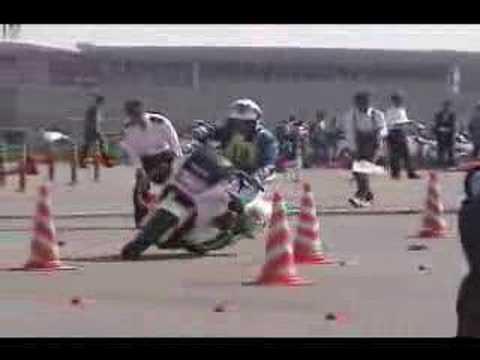 Japanese motorcycle cop