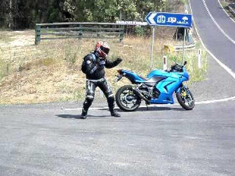 Funny Biker Dance