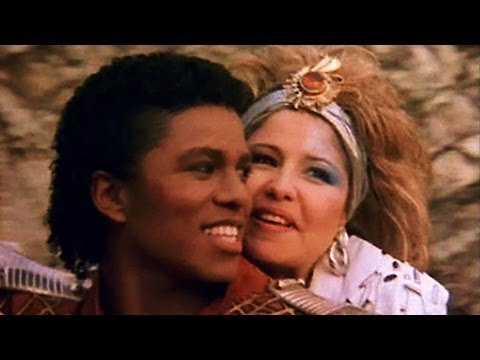 Jermaine Jackson and Pia Zadora - When The Rain Begins to Fall (Video & Lyrics)