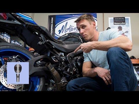 Вредит ли Мотоциклу Езда Без Глушителя? [MC Garage]