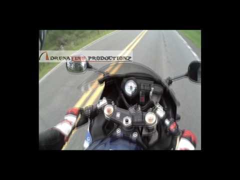Motorcycle Hits Deer @ 85 mph | Helmet Cam