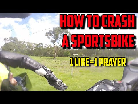 How to crash a sportsbike