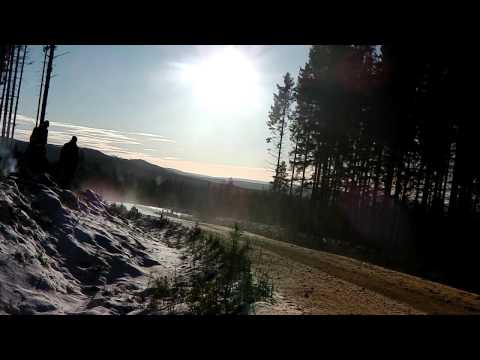 WRC 2012 Helicopter flight