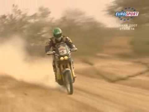 Lisboa Dakar Rally 2007 - Motorbikes Stage 14