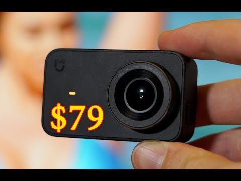 Xiaomi Mijia 4K - tiny pocket camera for $79 ONLY!!!