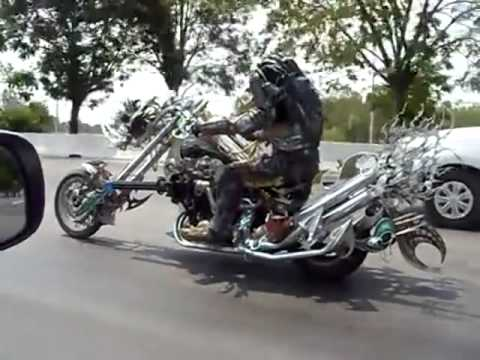 Breaking News!! #Predator Bike Ride Like a BOSS