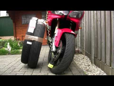 Clymer Manuals Sjaak Yamaha R1 Polar Ice Ride Motorcycle Adventure Video #3 Wheels & Tires
