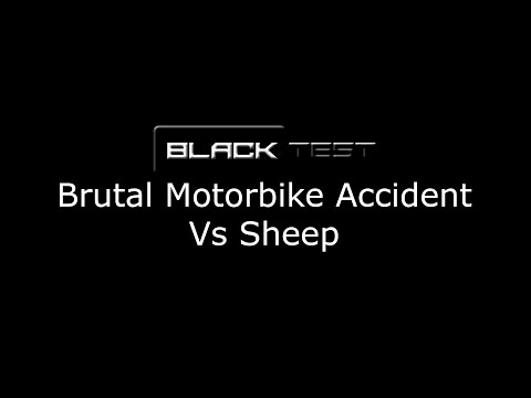 Brutal Motorbike Accident Vs Sheep