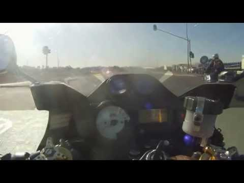 GSXR 1000 Turbo Acceleration run 2