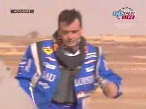 Lisboa Dakar Rally 2007 - Motorbikes Stage 08