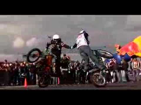 BMW Motorcycles F800 Chris Pfeiffer at Euro Stunt Champs!