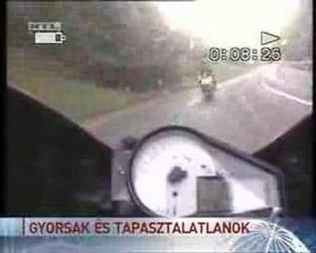 Fatal bike crash 130km/h head on