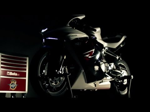 New MV AGUSTA F4 2013 first video