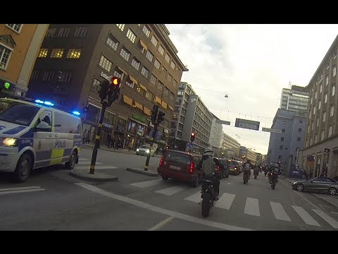 Short pursuit in Stockholm! 100,000 Subscribers... [Superretards 2013]