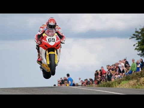 CRASH / JUMP at . 260-Kmh / 160-MPH ✔ KELLS ROAD RACES - IRELAND - ✔ Type Race - Isle of Man TT