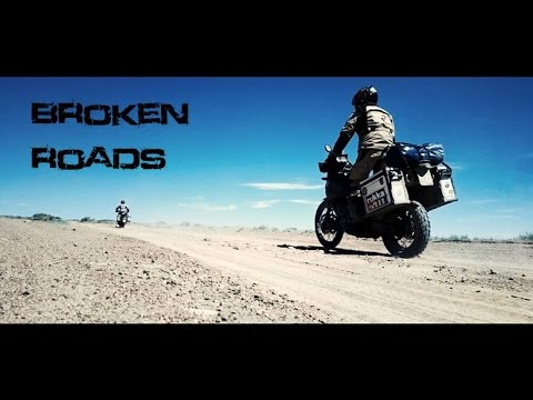 Broken Roads - from Finland to Mongolia on a motorcycle