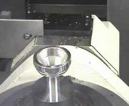 STAMA 5-Axis System 7 HIP SOCKET CUTTING DEMO