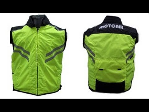 MotoAir motorcycle airbag vest Review