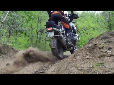 BMW 1200 GS LC 2013 Off Road TT en Stage David Fretigné (NEX-FS700 240 FPS)