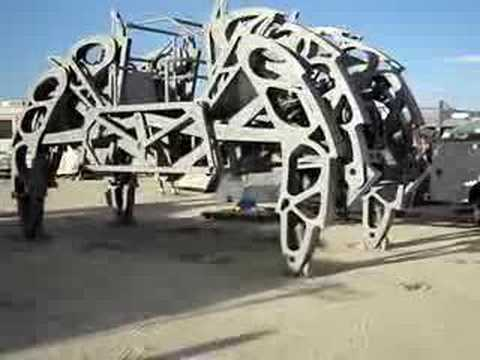 2007 Burning Man - Spider Machine