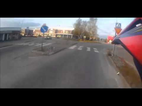 Finnish Teen Tries to Outrun Police Officer after Being Caught Doing Wheelies