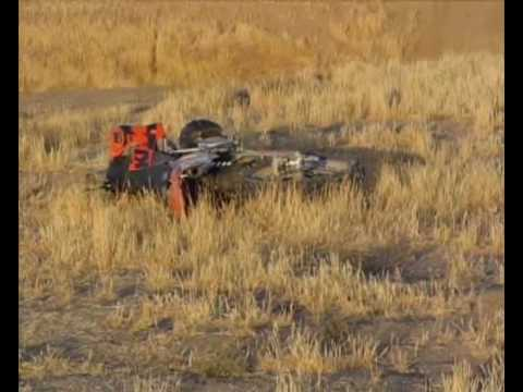 Nitro cirus ktm crash