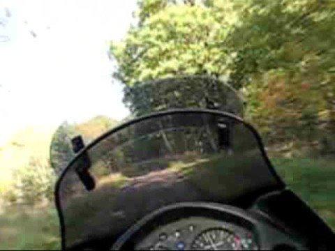 Honda Transalp Xl650V - jesienna inspekcja lasów ;)