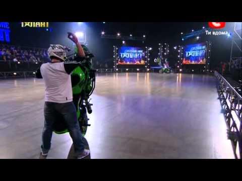 Украина мае талант 4! - Коллектив NS Stunt [31.03.12]
