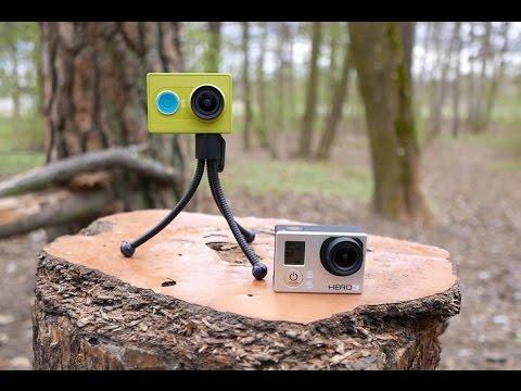 XiaoMi Yi veiksmo kamera / GoPro / SJcam S5000 Plus / Mobius testas
