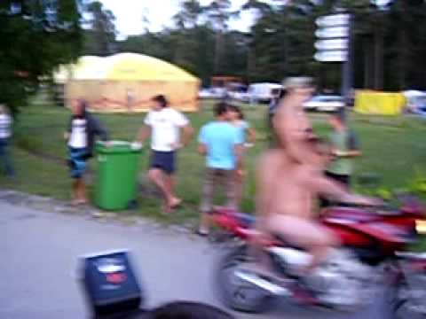Kurland Bike meet 2009 crash