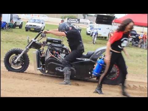 V8 Dirt Drag Bikes - Hard 'n' Fast Promotions