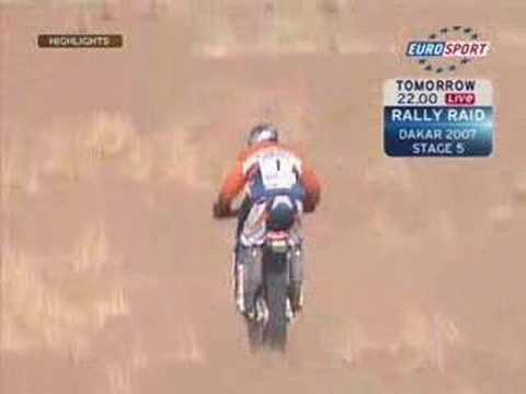 Lisboa Dakar Rally 2007 - Motorbikes Stage 04