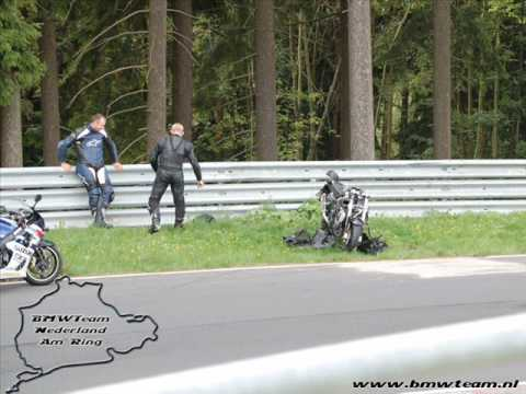 "ghost rider crash at ""nordschleife"""
