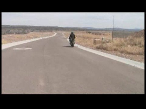 Motorcycle Riding Basics : Motorcycle Riding: Figure Eights